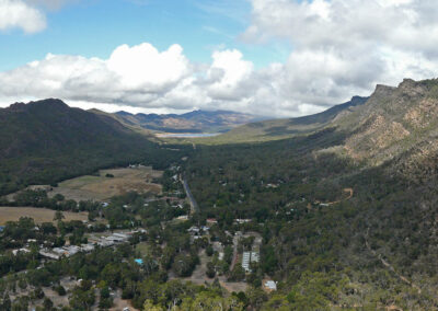 Halls Gap Valley from Chatauqua Peak