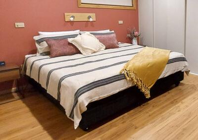 Adjustable high low beds for maximum comfort in main bedroom